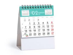 Calendario Sobremesa Personalizado Barato Ener 2022