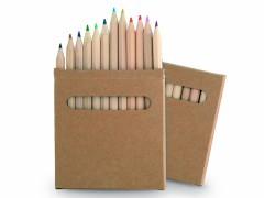 Cajas de Lápices Personalizados Baratos para Publicidad