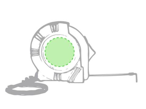 Flexómetro Personalizado Barato Harrol 1m